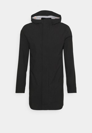 DACEY HOODED COAT - Classic coat - black