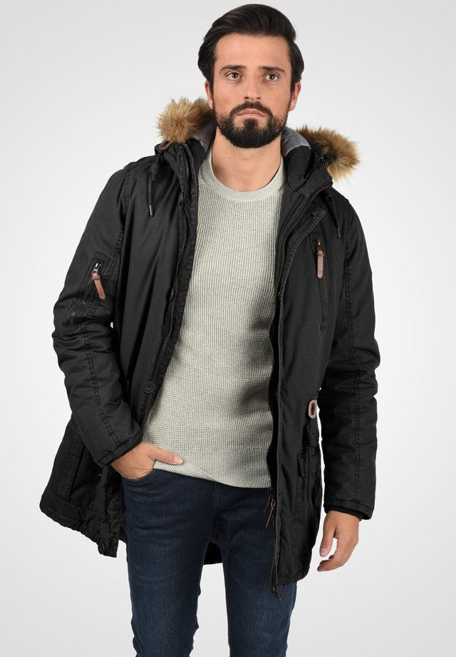 SOLID CLARK - Winter coat - black