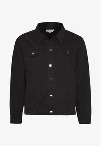 Another Influence - SLIM FIT JACKET - Denim jacket - black - 5