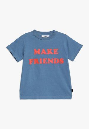 REEVE - Camiseta estampada - twilight blue