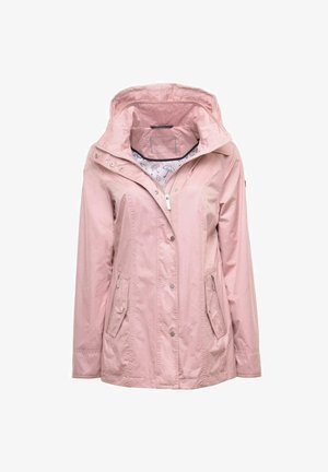 Waterproof jacket - rose