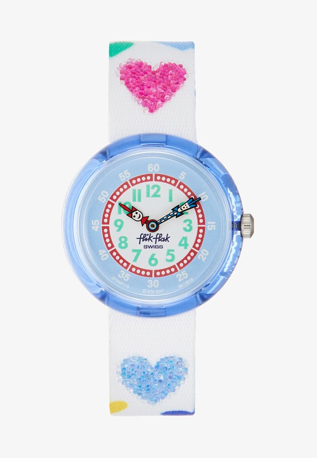 LOVE MY HEART - Horloge - white