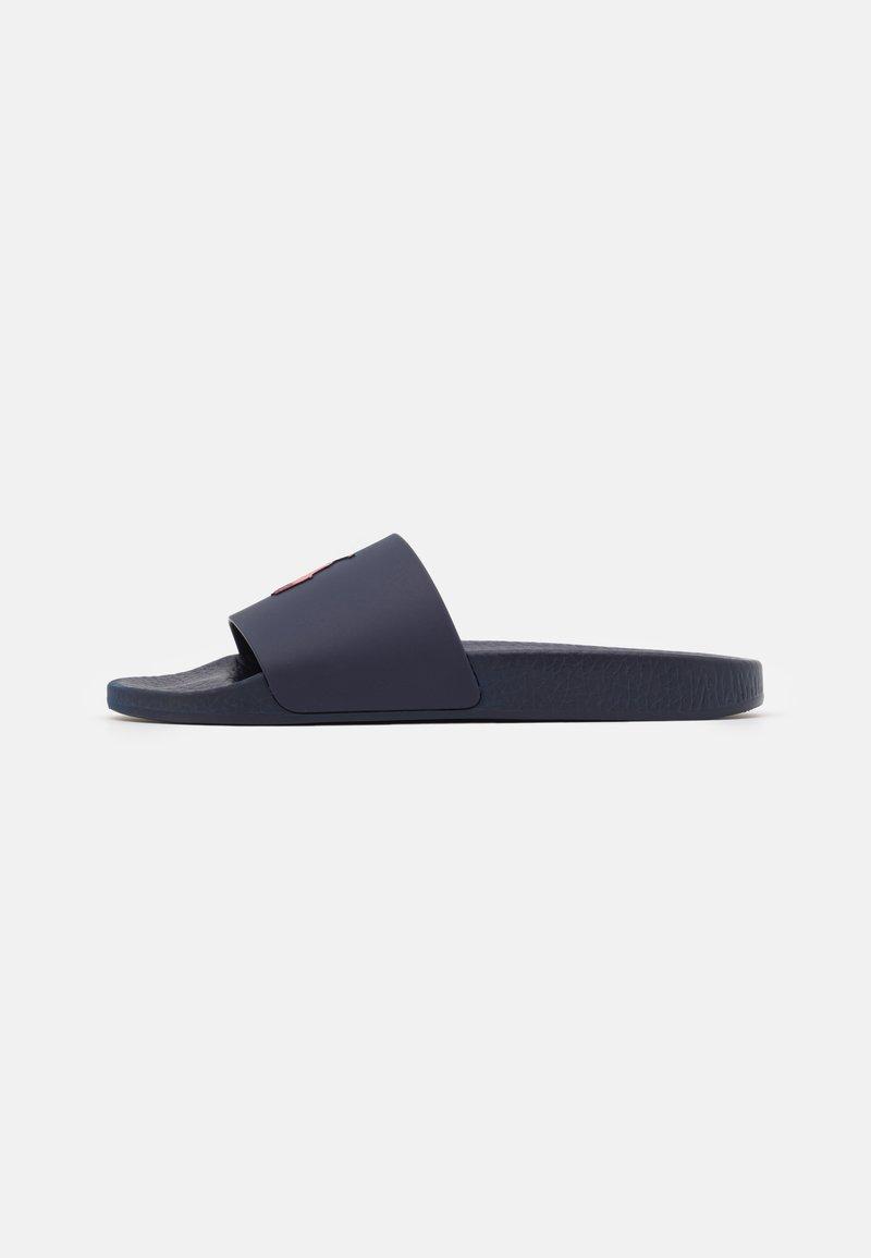 Polo Ralph Lauren - SLIDE UNISEX - Mules - navy/red