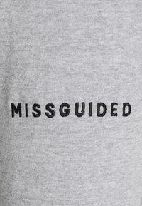 Missguided Petite - HOODIE AND JOGGER SET - Zip-up hoodie - grey - 4