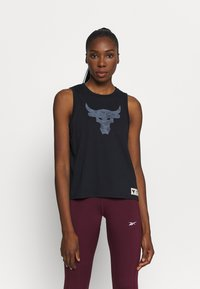 Under Armour - PROJECT ROCK TANK - Funkční triko - black - 0