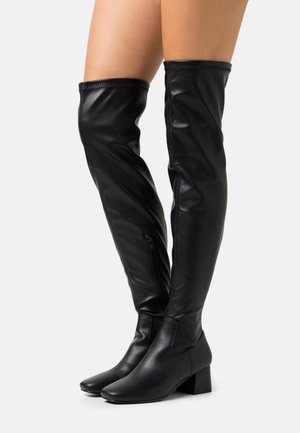 JOLIE SOCK BOOT - Over-the-knee boots - black