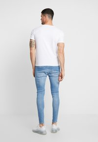 Carlo Colucci - CREW NECK 2 PACK - Basic T-shirt - weiss - 2