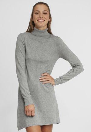 WINALA - Abito in maglia - medium grey melange