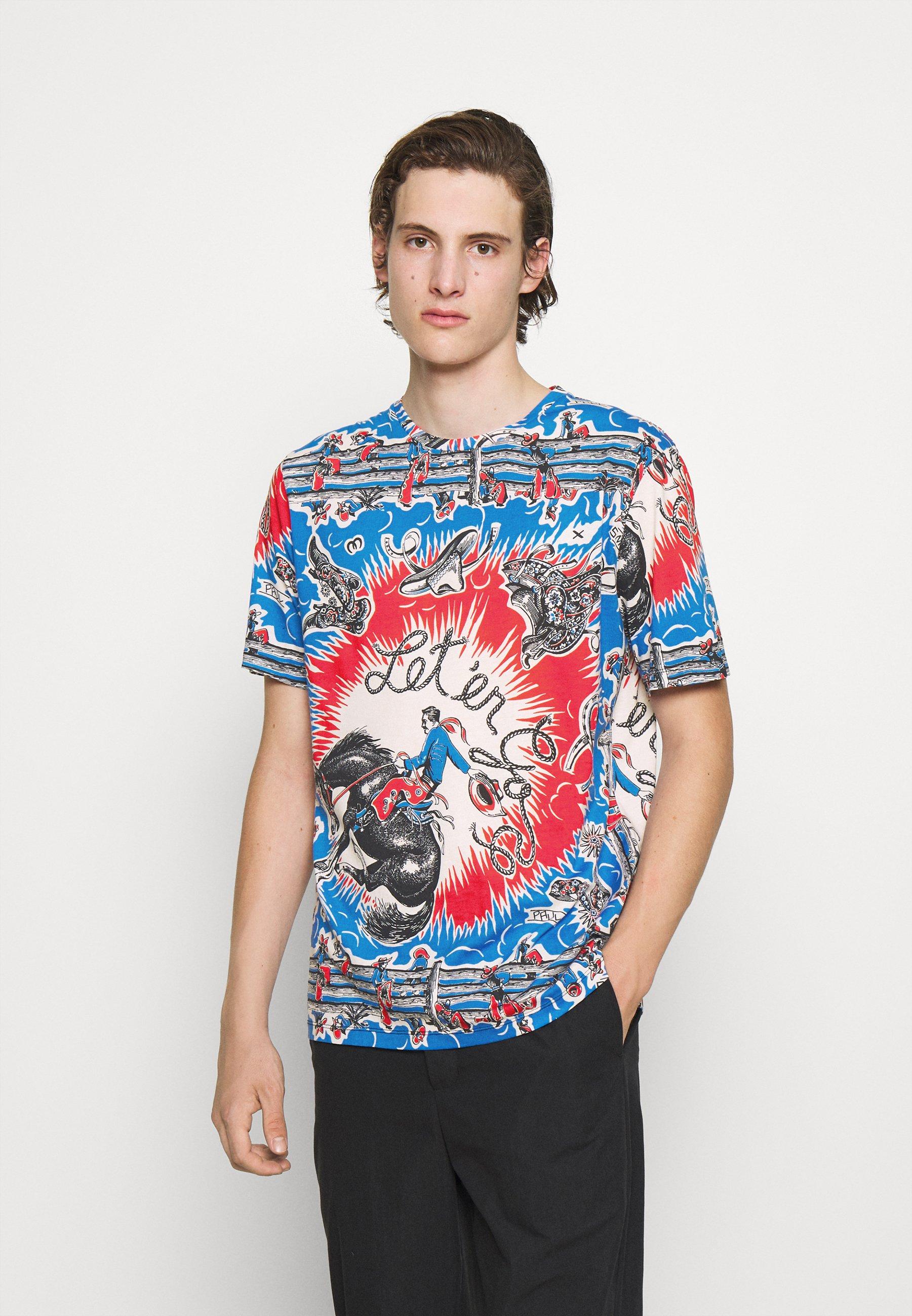Herren COWBOY PRINT UNISEX - T-Shirt print