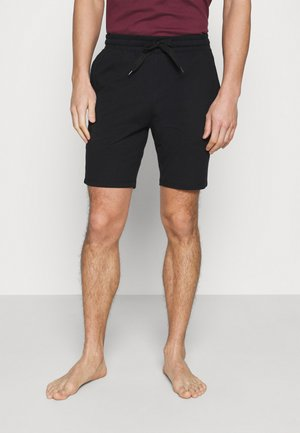 LOUNGE SHORTS - Pyjamahousut/-shortsit - black/dark blue