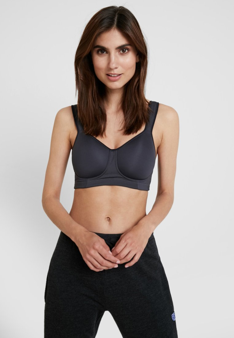 Schiesser - Sports bra - grey