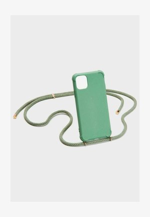 IPHONE 12/12 PRO - Phone case - green/gold
