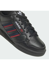 adidas Originals - CONTINENTAL 80 3 STRIPES SHOES - Trainers - core black/collegiate navy/vivid red - 6