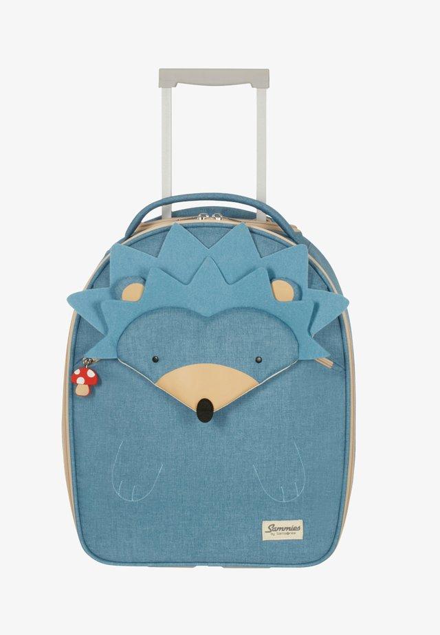 MIT 2 ROLLEN - Wheeled suitcase - light blue