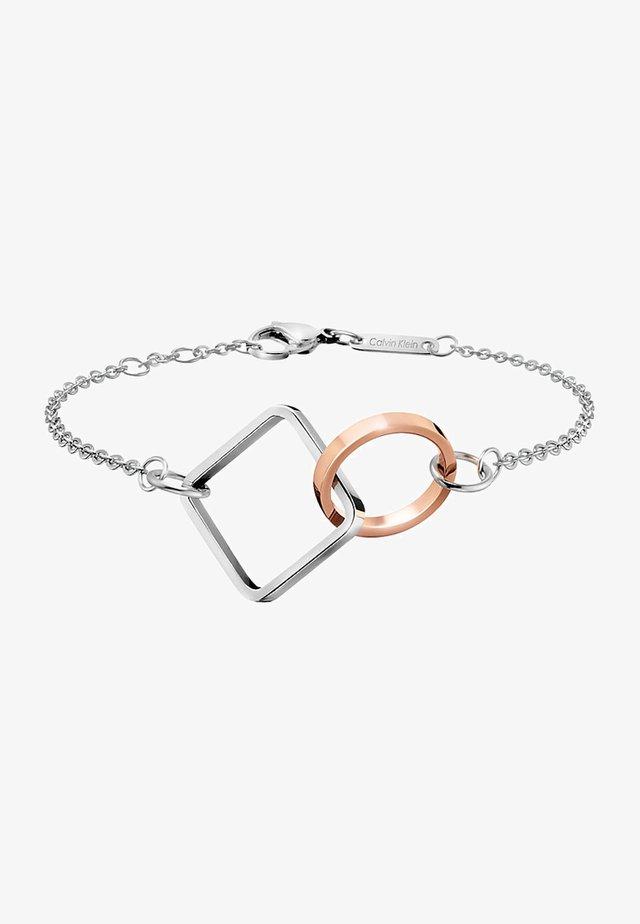 WONDER - Bracelet - silber-coloured/rosegold-coloured