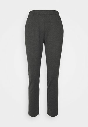 THELMA ANKLE PANTS - Bukse - dark grey molted