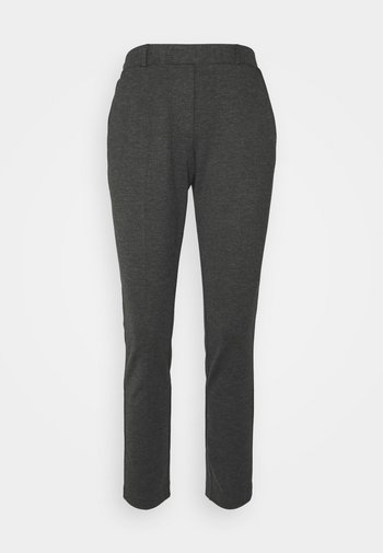 THELMA ANKLE PANTS - Trousers - dark grey molted