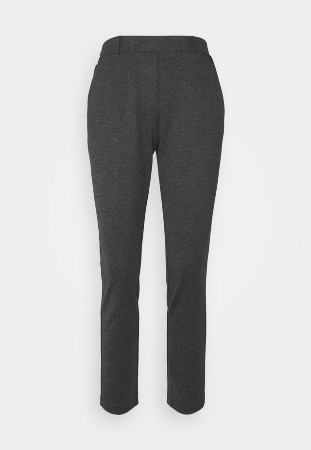 THELMA ANKLE PANTS - Kalhoty - dark grey molted