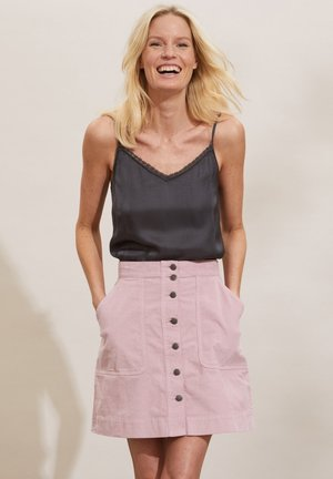 HOLLY - A-line skirt - pink mauve