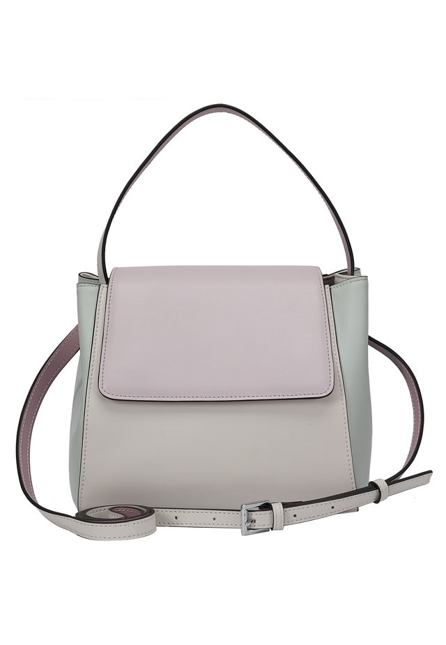 Handbag - rosa-minzfarbig