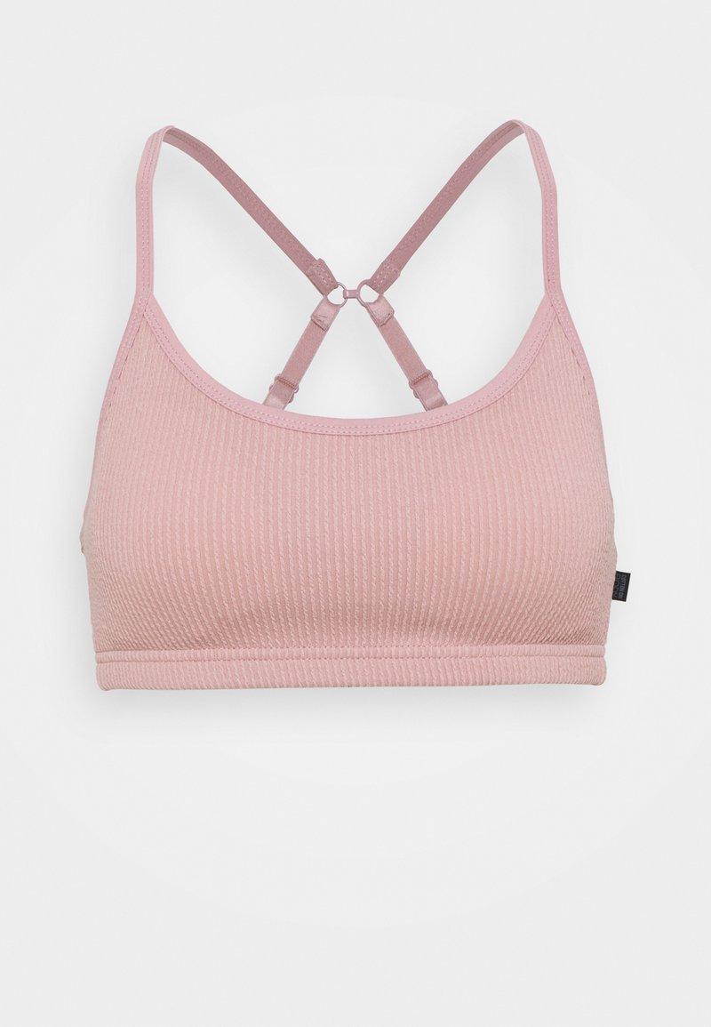 Cotton On Body - WORKOUT YOGA CROP - Brassières de sport à maintien léger - almond pink