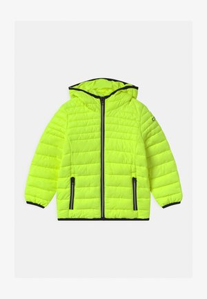 BOY FIX HOOD UNISEX - Winter jacket - yellow fluo