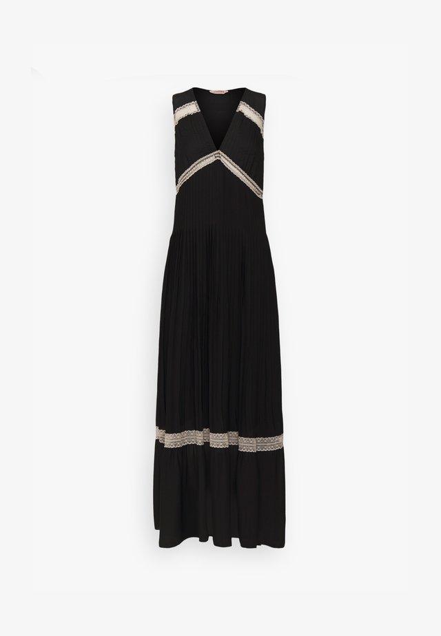 Vestido largo - nero