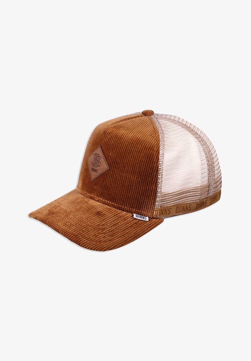 Djinn's - HFT CORDUROY - Cap - wheat