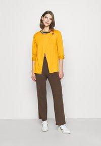 ONLY - ONLELLE CARDIGAN - Cardigan - golden yellow - 1