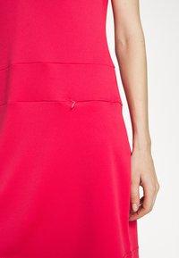 Daily Sports - SELENA CAP DRESS - Jerseykjoler - sangria - 4