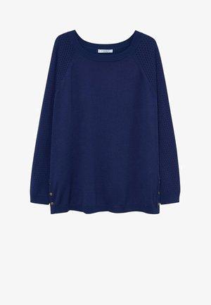 SNAP - Strickpullover - blau