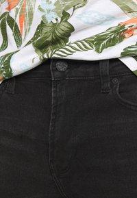 Only & Sons - ONSPLY LIFE - Denim shorts - black denim - 4