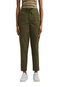 edc by Esprit - TWIST  - Trousers - khaki green - 6