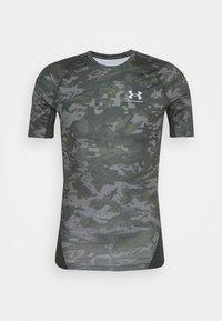 Under Armour - ARMOUR CAMO - Print T-shirt - baroque green - 5