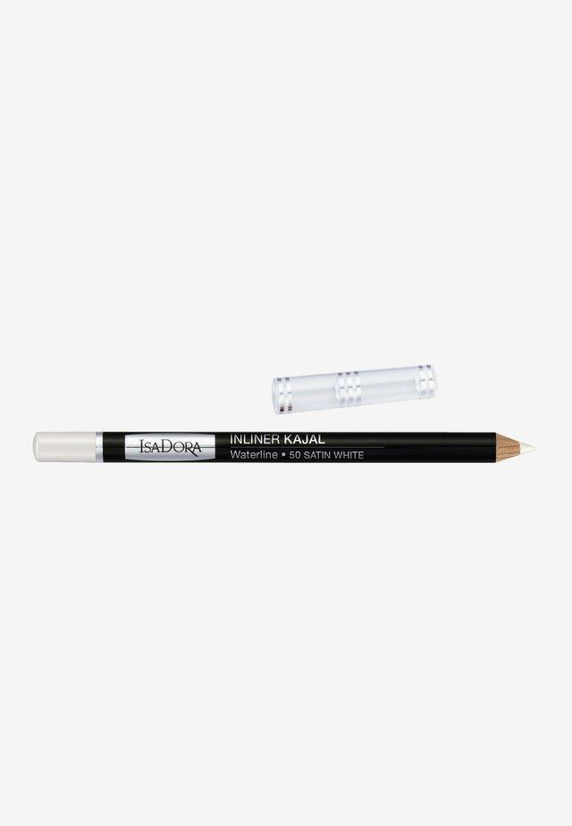 INLINER KAJAL WATERLINE - Eyeliner - satin white