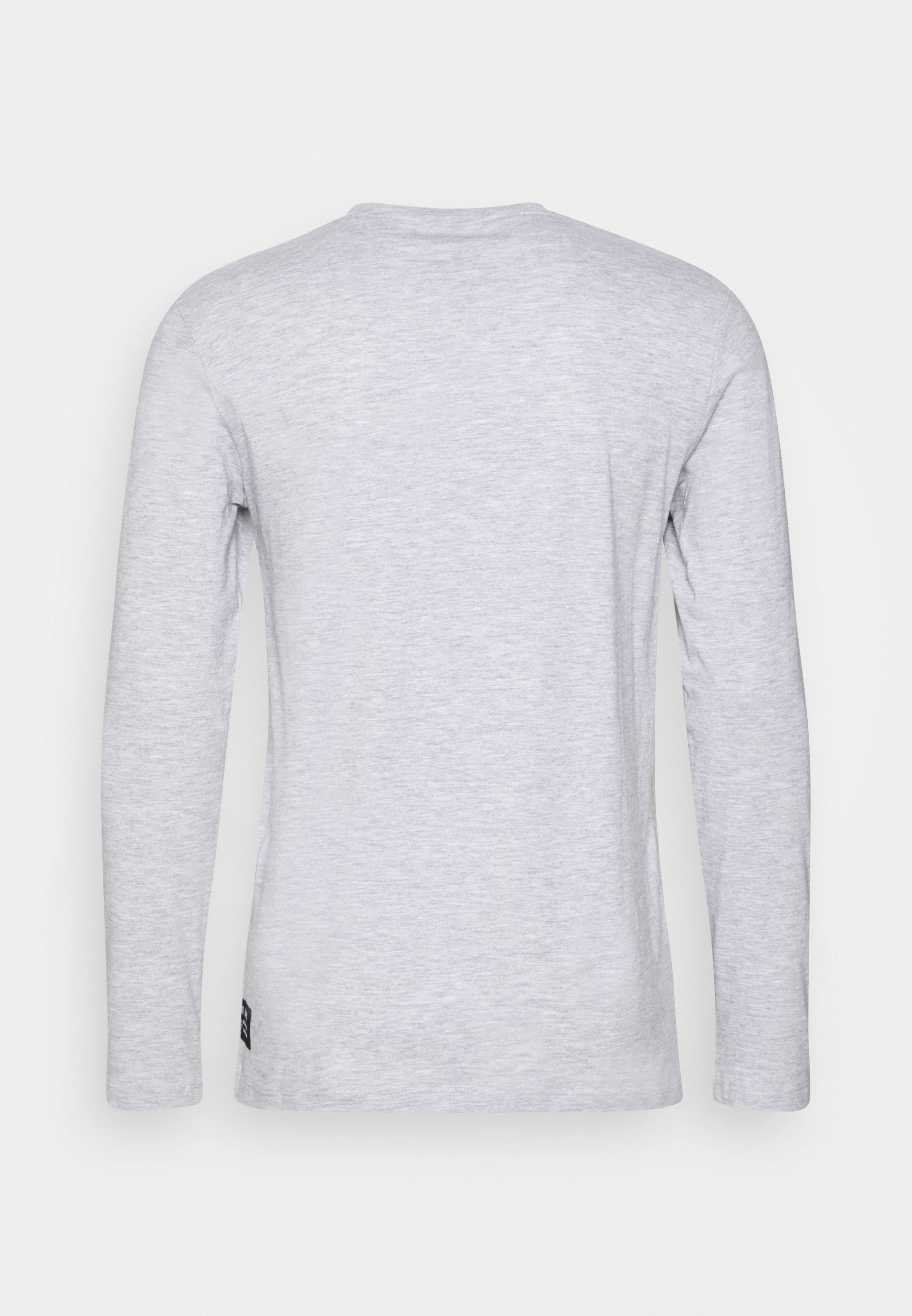 Men LONGSLEEVE WITH CHEST PRINT - Long sleeved top - light grey