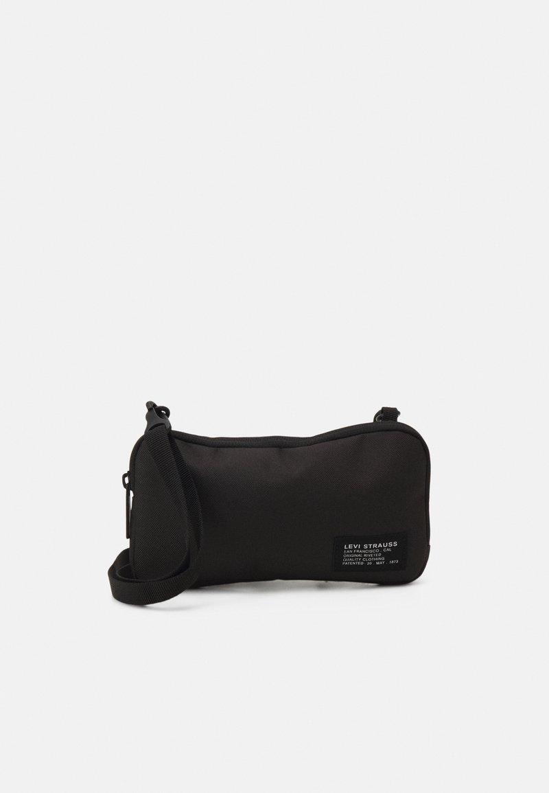 Levi's® - HORIZONTAL LANYARD BAG UNISEX - Olkalaukku - regular black