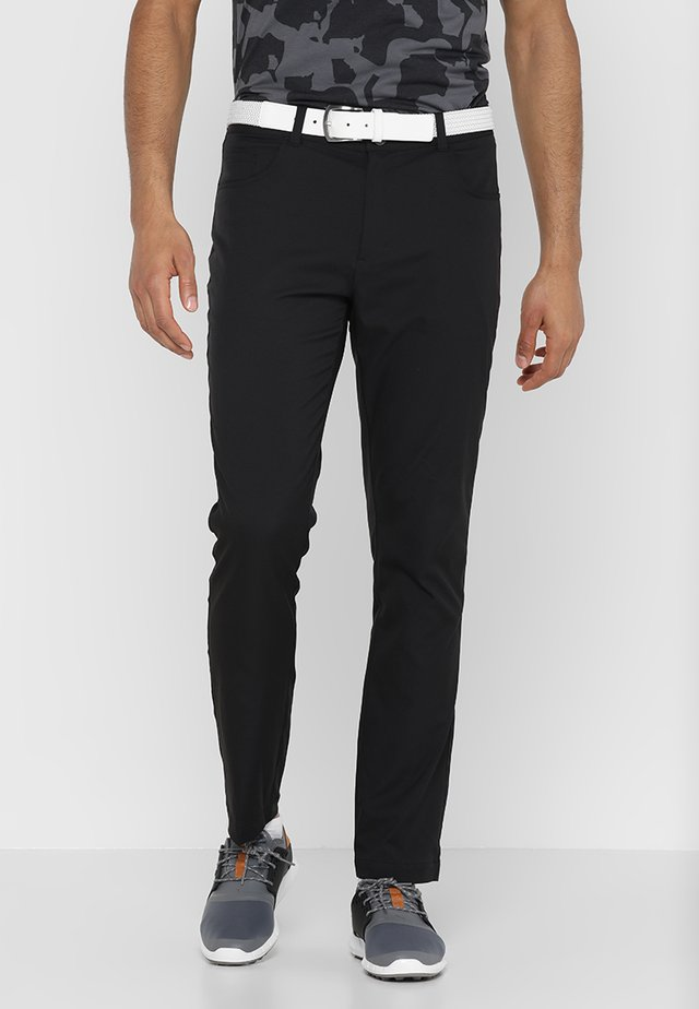 JACKPOT 5 POCKET PANT - Bukse - black heather