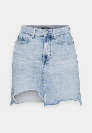 KEIRA LOOKER - Mini skirt - light blue