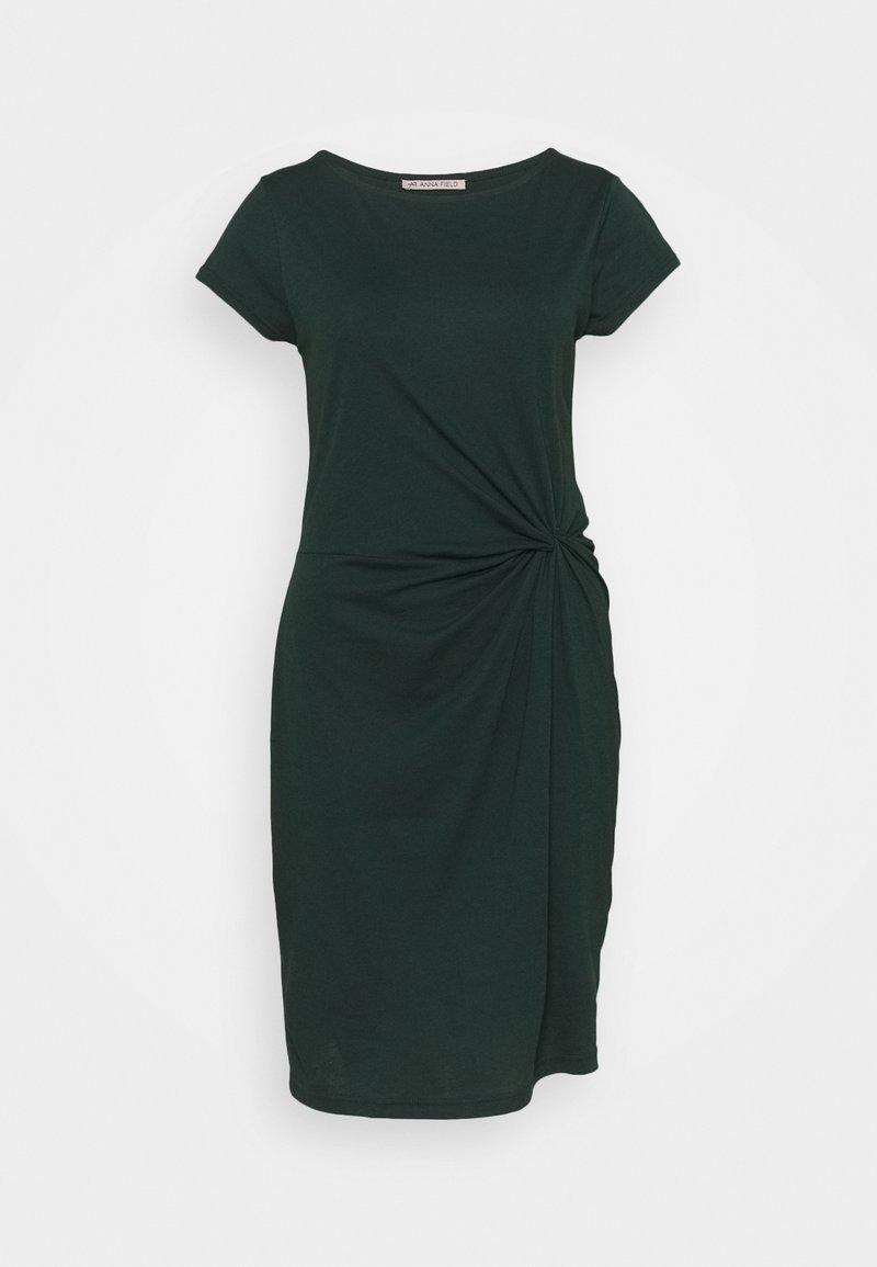 Anna Field - Jersey dress - dark green