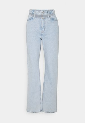 EWER TROUSERS - Jeans straight leg - cold blue