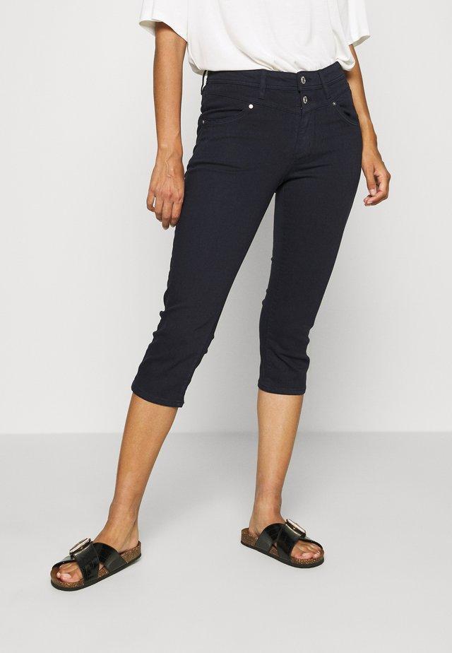 HOSE - Jeansshort - blue denim stretch