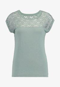 ONLY - Camiseta estampada - chinois green - 3