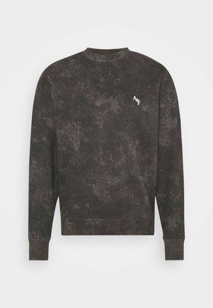 TREND LOGO MATCHBACK CREW - Sweatshirt - black wash