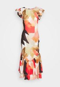 Never Fully Dressed - BROWN ARTIST PRINT FRIDA DRESS - Sukienka koktajlowa - multi - 4