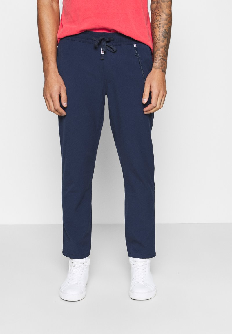 Tommy Jeans - SOLID SCANTON PANT - Bukser - twilight navy