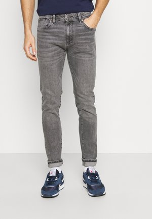 SLHSLIM LEON - Slim fit jeans - medium grey denim