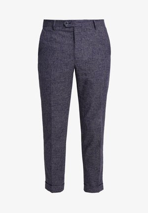 FLEX PANTS - Suit trousers - blue