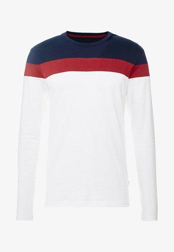 Maglietta a manica lunga - offwhite/dark blue