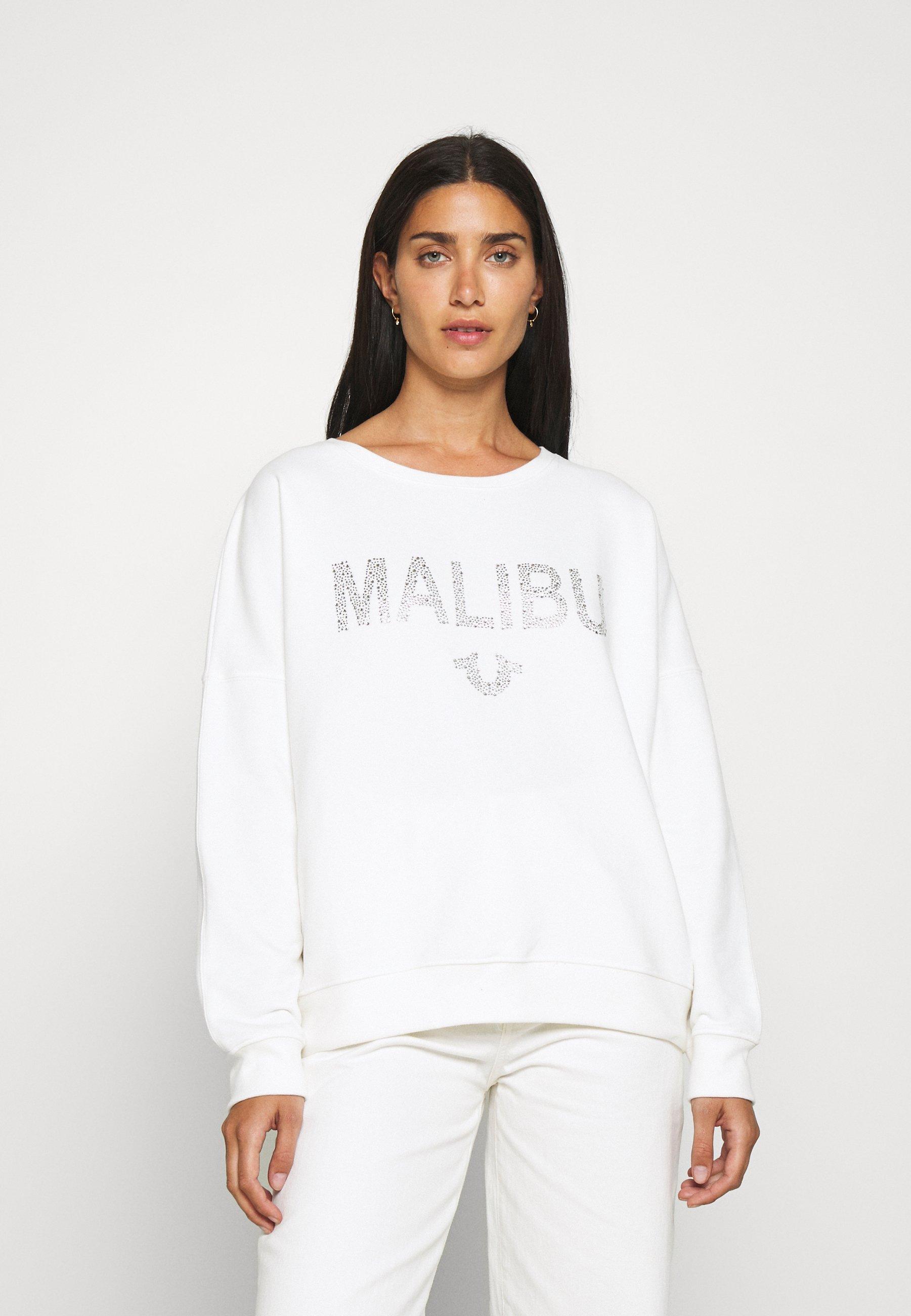 Women BOXY CREW NECK MALIBU - Sweatshirt